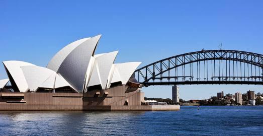 悉尼市区经典一日游 悉尼歌剧院+海港大桥+邦迪海滩+情人港游船