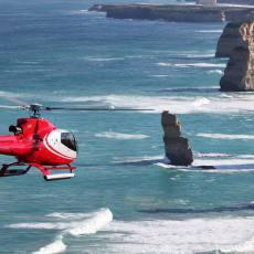 看一次少一次   墨尔本大洋路十二门徒岩直升机观光(15/25/60分钟可选+自驾推荐)12 Apostles Helicopters