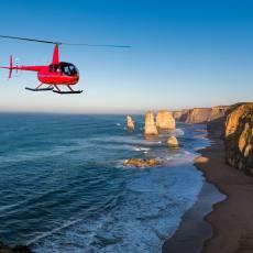 单程包机   墨尔本大洋路十二门徒直升机直飞墨尔本 节省时间 12 Apostles Helicopters