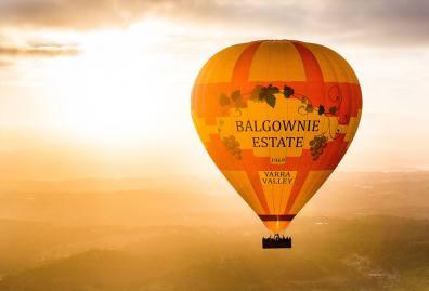 墨尔本热气球  可选市区CBD/亚拉河谷 超值60分钟观光飞行(市区酒店接送+可选5星级自助早餐/酒庄一日游)Global Ballooning