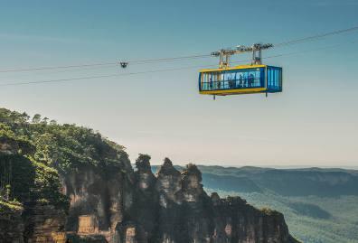悉尼周边必玩 蓝山景观世界缆车通票(空中缆车+观光火车+索道缆车)Scenic World Blue Mountains